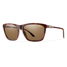 Delano Matte Tortoise Polarized Brown by Smith Optics in Edwards Co