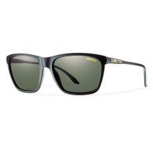 Delano Matte Black Polarized Gray Green by Smith Optics in Iowa City Ia