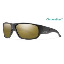 Discord Matte Black ChromaPop+  Polarized Bronze Mirror by Smith Optics in Iowa City Ia