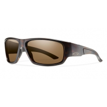 Discord Matte Tortoise Polarized Brown by Smith Optics in Edwards Co