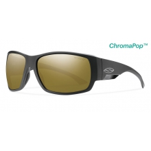 Dockside Matte Black ChromaPop+  Polarized Bronze Mirror by Smith Optics