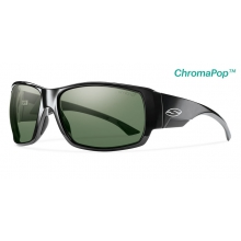 Dockside Black ChromaPop+  Polarized Gray Green by Smith Optics in Medicine Hat Ab