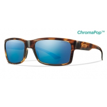 Dolen Havana ChromaPop+  Polarized Blue Mirror by Smith Optics