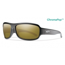 Drop Elite Matte Black ChromaPop +  Elite Polarized Bronze Mirror by Smith Optics