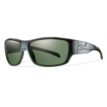 Frontman Black Polarized Gray Green