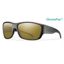 Frontman Elite Black ChromaPop +  Elite Polarized Bronze Mirror by Smith Optics