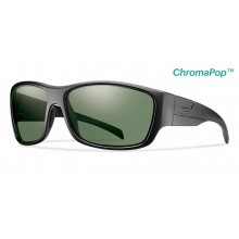 Frontman Elite Black ChromaPop +  Elite Polarized Gray Green by Smith Optics