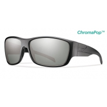 Frontman Elite Black ChromaPop +  Elite Polarized Platinum by Smith Optics