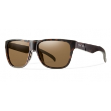 Lowdown Matte Tortoise Polarized Brown by Smith Optics