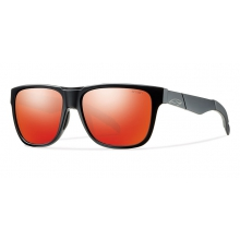 Lowdown Matte Black Red Sol-X Mirror by Smith Optics