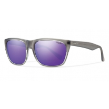 Tioga Smoke Split Purple Sol-X Mirror by Smith Optics in Ponderay Id
