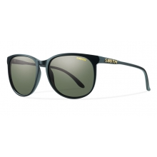 Mt. Shasta Matte Black Polarized Gray Green by Smith Optics in Charleston Sc