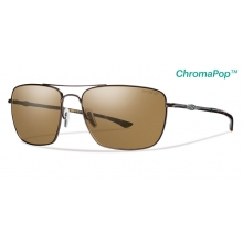 Nomad Matte Brown ChromaPop+  Polarized Brown by Smith Optics