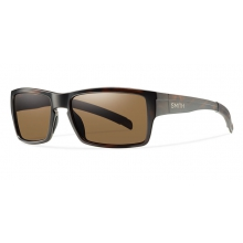 Outlier Matte Tortoise Polarized Brown by Smith Optics in Medicine Hat Ab