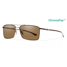 Outlier Ti Matte Brown ChromaPop+  Polarized Brown by Smith Optics