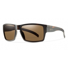 Outlier XL Matte Tortoise Polarized Brown by Smith Optics