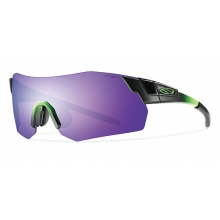 PivLock Arena Max Reactor Green Purple Sol-X Mirror by Smith Optics