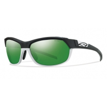 Pivlock Overdrive Matte Black White by Smith Optics