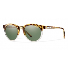 Questa Amber Tortoise Polarized Gray Green by Smith Optics