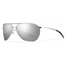 Serpico Slim Silver Polarized Platinum by Smith Optics in Edwards Co