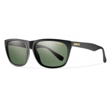 Tioga Matte Black Polarized Gray Green by Smith Optics