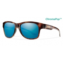 Wayward Havana ChromaPop+  Polarized Blue Mirror by Smith Optics