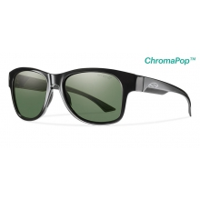 Wayward Black ChromaPop+  Polarized Gray Green by Smith Optics