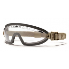Boogie Sport Goggle Tan 499 - Asian Fit Clear Mil-Spec by Smith Optics