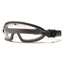 Boogie Sport Goggle Black - Asian Fit Clear Mil-Spec by Smith Optics