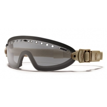 Boogie Sport Goggle Tan 499 - Asian Fit Gray Mil-Spec by Smith Optics