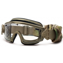 Lopro Regulator Goggle Tan 499 Clear Mil-Spec Deluxe Kit by Smith Optics