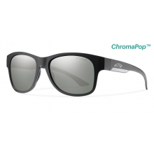 Wayward Matte Black ChromaPop+  Polarized Platinum by Smith Optics