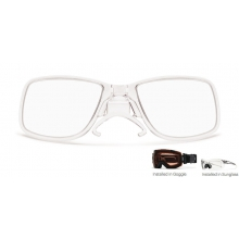 ODS3 Rx Adaptor Clear by Smith Optics in Ponderay Id