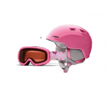 Zoom/Gambler Combo Bright Pink Youth Medium (53-58 CM) by Smith Optics