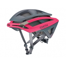 Overtake Matte Pink - Charcoal Large (59-62 cm) by Smith Optics