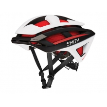 Overtake Matte Red - White - Black Large (59-62 cm) by Smith Optics