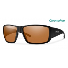Guide's Choice Matte Black ChromaPop Polarized Copper by Smith Optics in Edwards Co