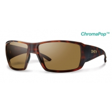 Guide's Choice Matte Havana ChromaPop+  Polarized Brown by Smith Optics in Chino Ca