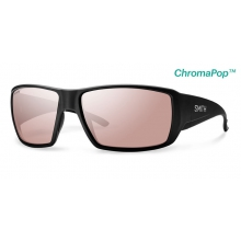 Guide's Choice Matte Black ChromaPop+  Polarchromic Ignitor by Smith Optics
