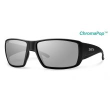 Guide's Choice Matte Black ChromaPop+  Polarized Platinum by Smith Optics in Austin Tx
