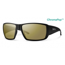 Guide's Choice Matte Black ChromaPop+  Polarized Bronze Mirror by Smith Optics