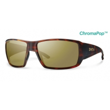 Guide's Choice Matte Havana ChromaPop+  Polarized Bronze Mirror by Smith Optics in Chino Ca