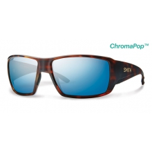 Guide's Choice Matte Havana ChromaPop+  Polarized Blue Mirror by Smith Optics in Iowa City Ia
