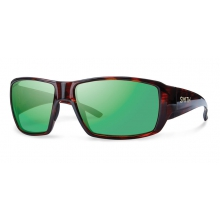 Guide's Choice Havana Techlite Polarized Green Mirror by Smith Optics