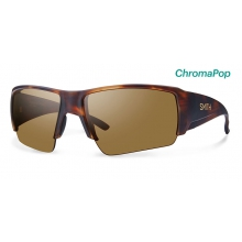 Captain's Choice Matte Black ChromaPop+  Polarized Gray Green by Smith Optics