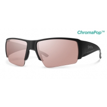 Captain's Choice Matte Black ChromaPop+  Polarchromic Ignitor by Smith Optics in Tucson Az