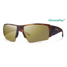 Captain's Choice Matte Havana ChromaPop+  Polarized Bronze Mirror by Smith Optics
