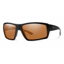 Challis Matte Black ChromaPop Polarized Copper by Smith Optics in Sandy Ut