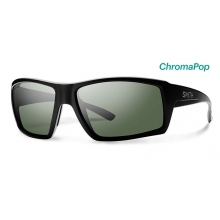 Challis Matte Black ChromaPop Polarized Gray Green by Smith Optics in Park City Ut