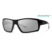 Challis Matte Black ChromaPop+  Polarized Platinum by Smith Optics